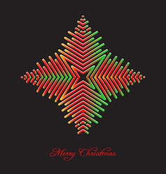 Elegant christmas background with abstract vector