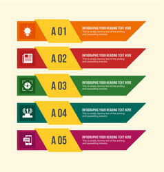 employment related information in infographic vector image