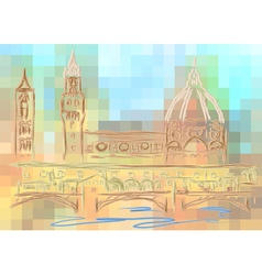 florence vector image