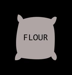 Flour icon vector