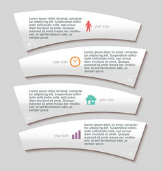 Flyer template page layout time management vector