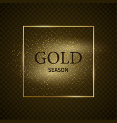 Frame-gold-season-five vector