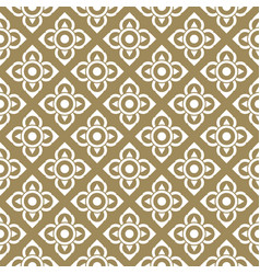 Line thai traditional seamless pattern background vector