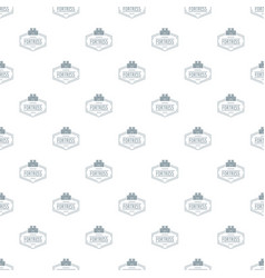 Old fortress pattern seamless vector