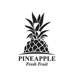 pineapple fruit image vector image