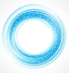 Abstract smooth light circle background vector image