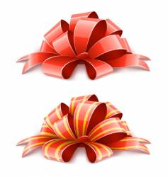 decorative ribbons vector image