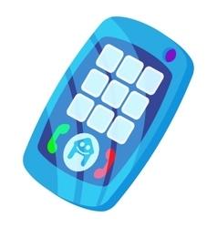Baby phone icon cartoon style vector image