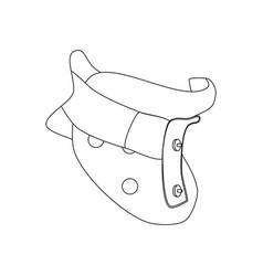 clamp for the neck vector image