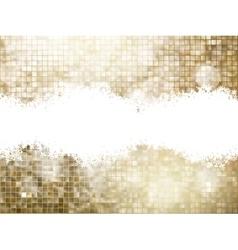 Golden background sparkling sequins eps 10 vector