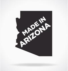 Made in arizona logo vector