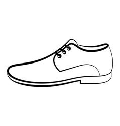 Men shoe vector