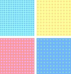 Pastel-seamless pattern vector