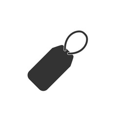 price tag icon flat vector image