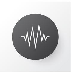 Pulse icon symbol premium quality isolated vector