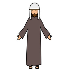 Shepherd of bethlehem character vector