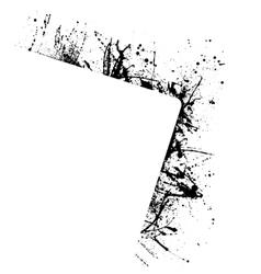 Splash frame vector