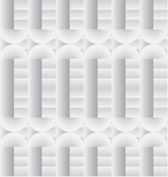 White geometric texture vector