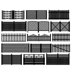 Fence set vector