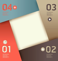 Modern design template can be used for info-graph vector
