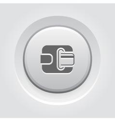 Modern Flat Digital Wallet concept vector image