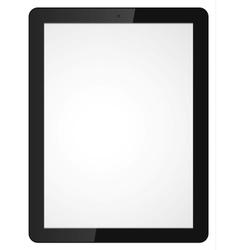 modern tablet computer vector image