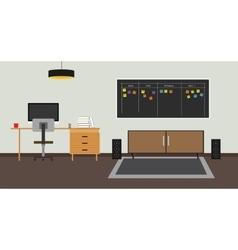 Scrum agile board vector