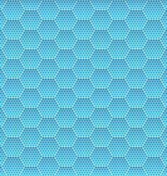 Seamless honeycomb hexagon background pattern vector