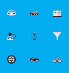 Set of simple transportation vector