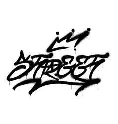 Street graffiti vector