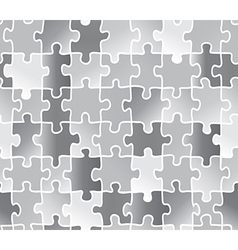 abstract texture puzzle silver gray color vector image