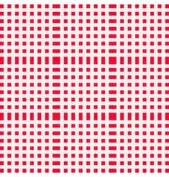 Red and white gingham clothtable for a picnic or vector image