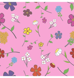Rose Floral Seamless vector image