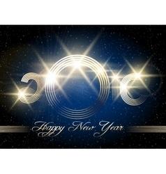 Happy New Year Festive Design vector image vector image