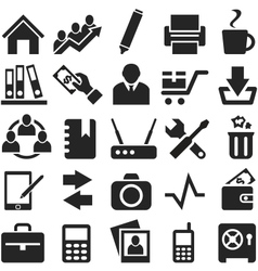 Icons for web and mobile vector image vector image