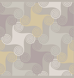 colorful seamless pattern with spiral elements vector image vector image