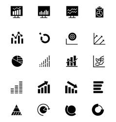 Data Analytics Icons 3 vector