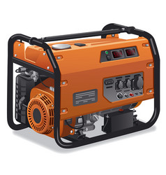 immovable power generator vector image