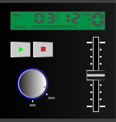 Music controller vector