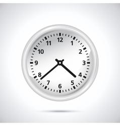 White Clock vector
