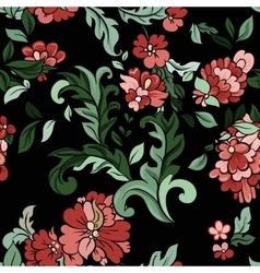 Beautiful floral seamless pattern vector