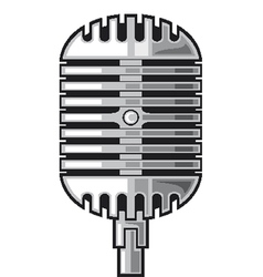 Classic Microphone vector image