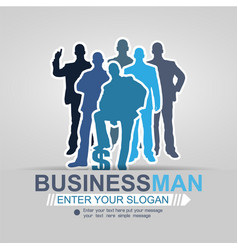Concept businessman affair background 2015 vector