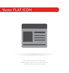 documents blank icon flat design vector image
