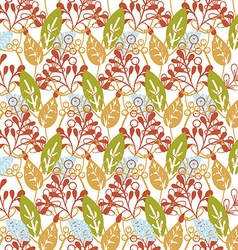 Floral Christmas Background vector image