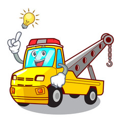 Have an idea tow truck for vehicle branding vector