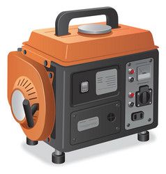 Home power generator vector
