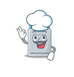 Key card cartoon character wearing costume vector