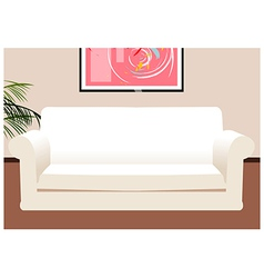Lounge Coach Background vector image