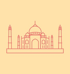 Taj Mahal vector